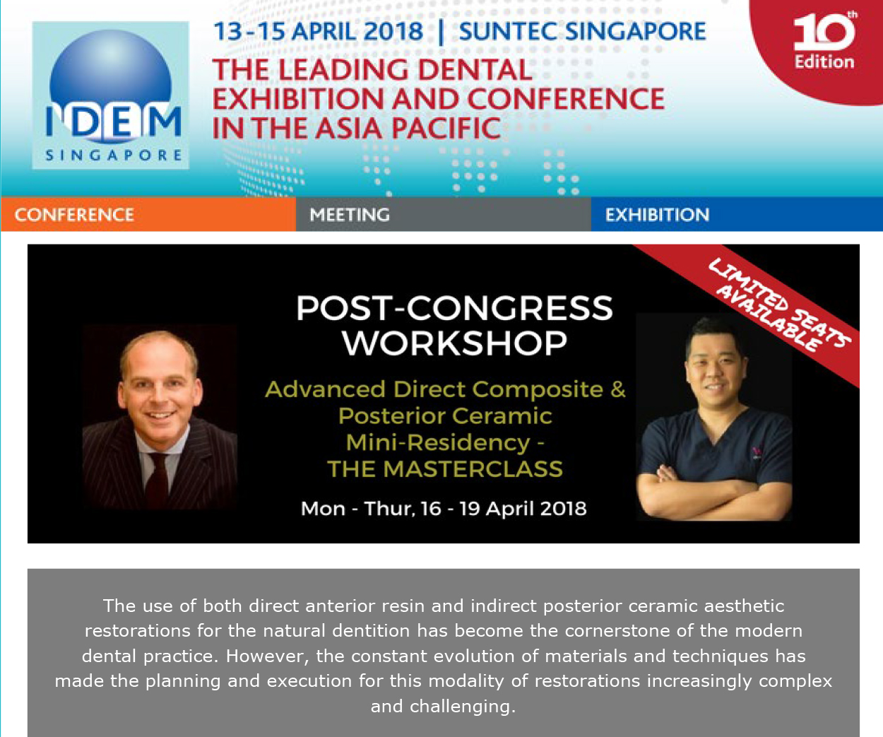 Post Congress Workshops - News