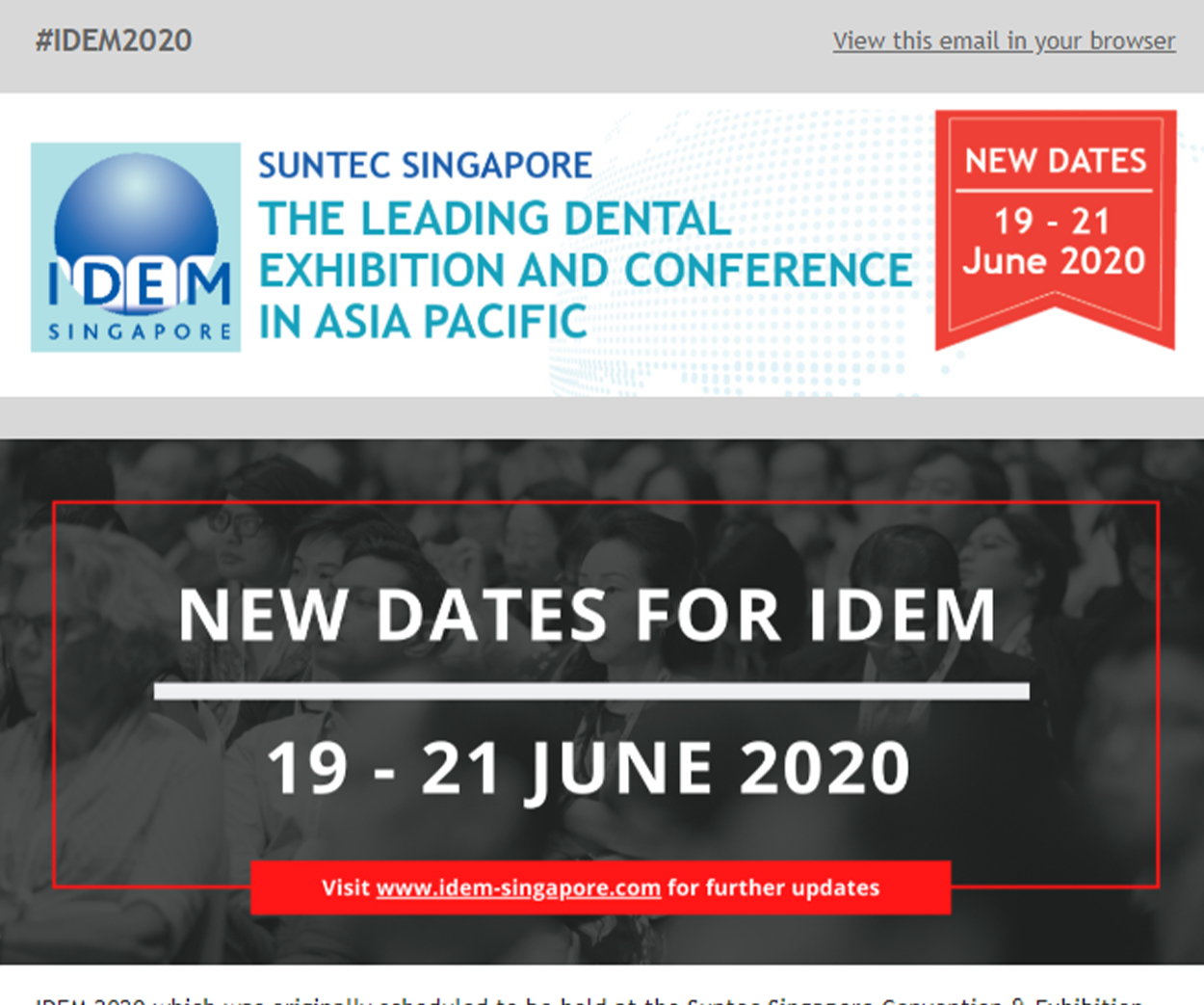 IDEM 2020 VP 8 - News
