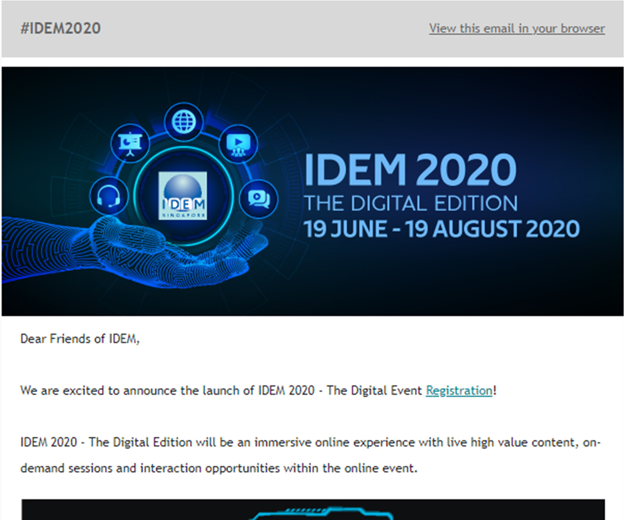 IDEM 2020 Newsletter Digital - News